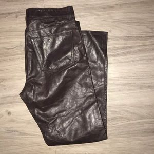 GAP Boot Fit Leather Pants